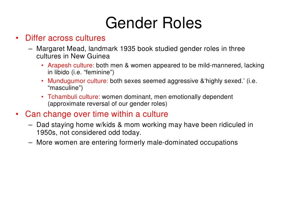 changing gender roles essays View and download gender role essays examples also discover topics, titles, outlines, thesis statements, and conclusions for your gender role essay.