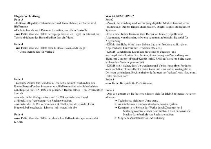 Stichpunktkärtchen zu Präsentation Rechtemanagement