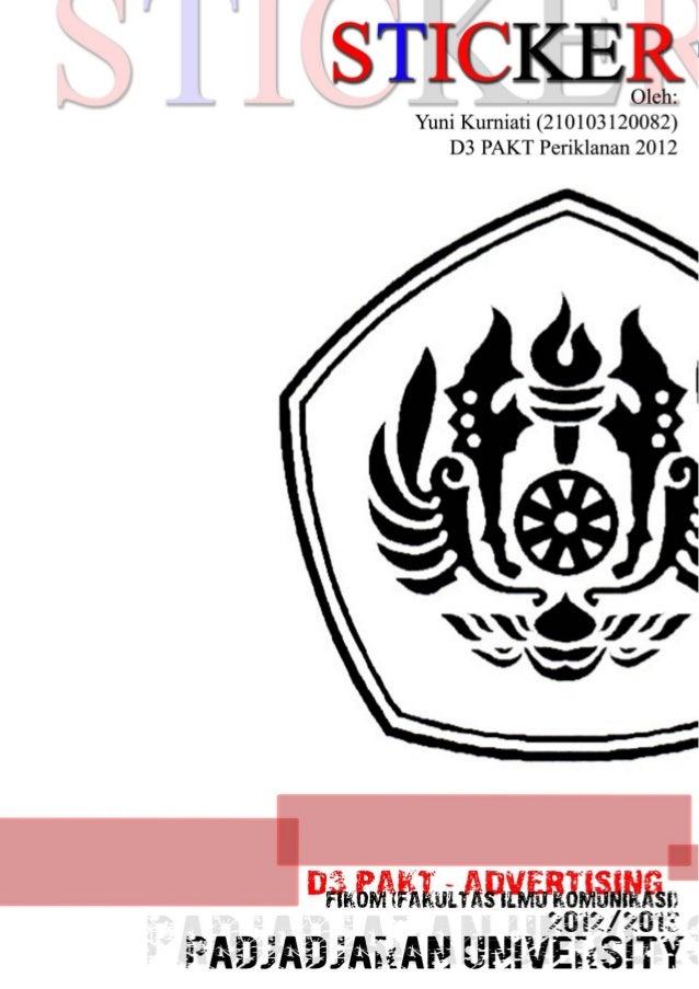 Pengantar Kreatif - D3 PAKT Periklanan 20120STICKER