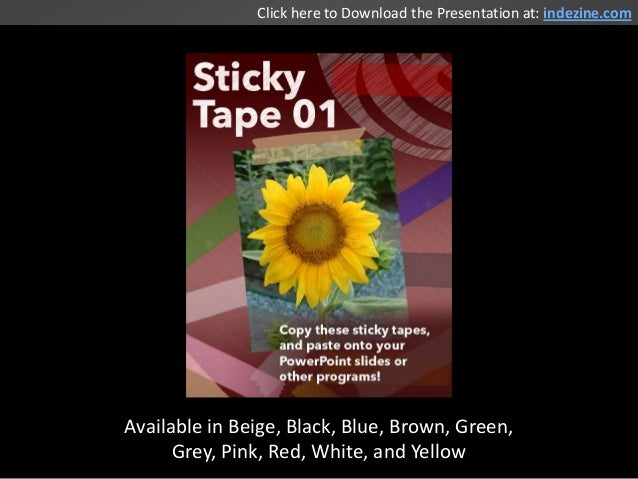 Available in Beige, Black, Blue, Brown, Green, Grey, Pink, Red, White, and Yellow Click here to Download the Presentation ...