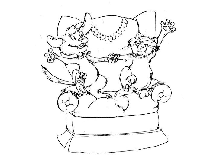 """Illustrations created for the pet product:               """"StickySheets""""                 Illustrated by:              Shann..."""