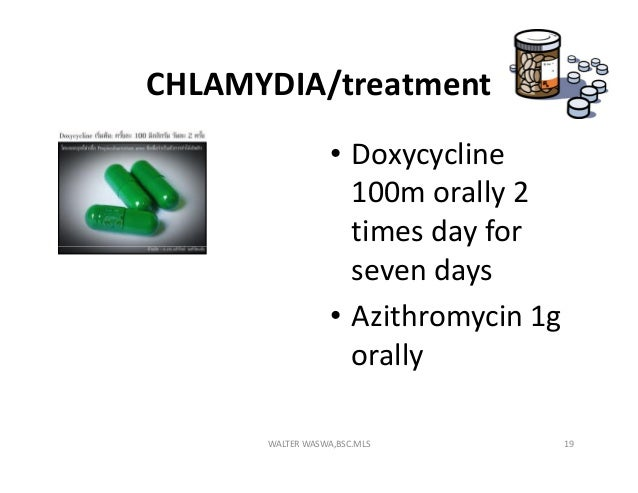 Zithromax As Treatment For Chlamydia