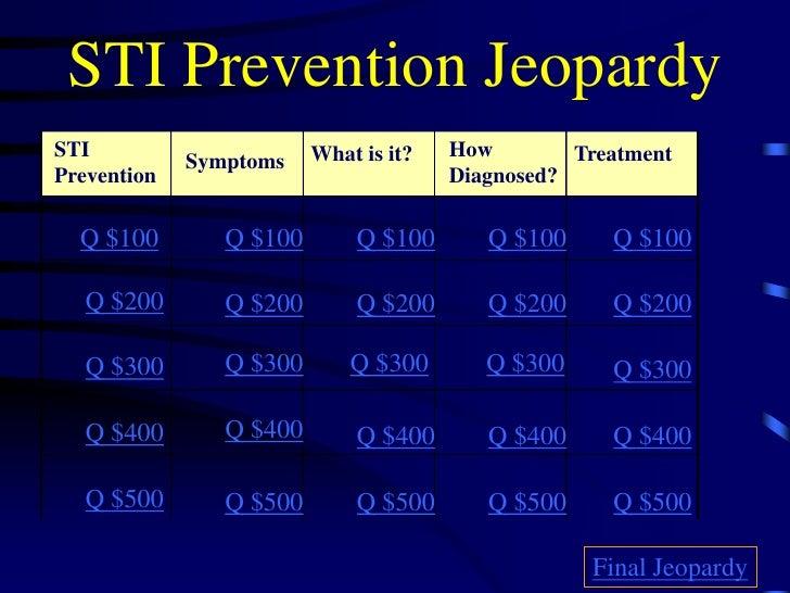 STI Jeopardy