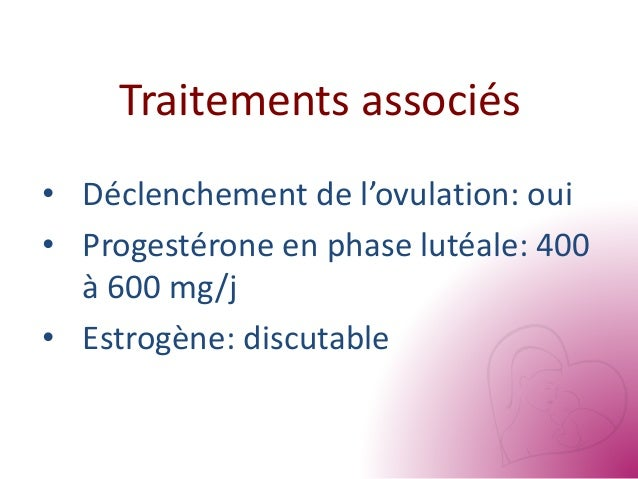taux oestradiol declenchement fiv