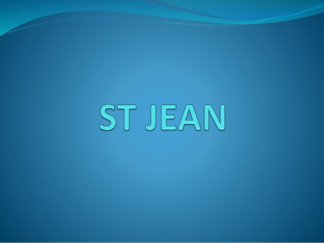 St jean is a very big school where you can enter at 2 and quit 18 years later.