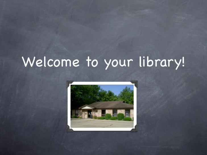 Welcome to your library!