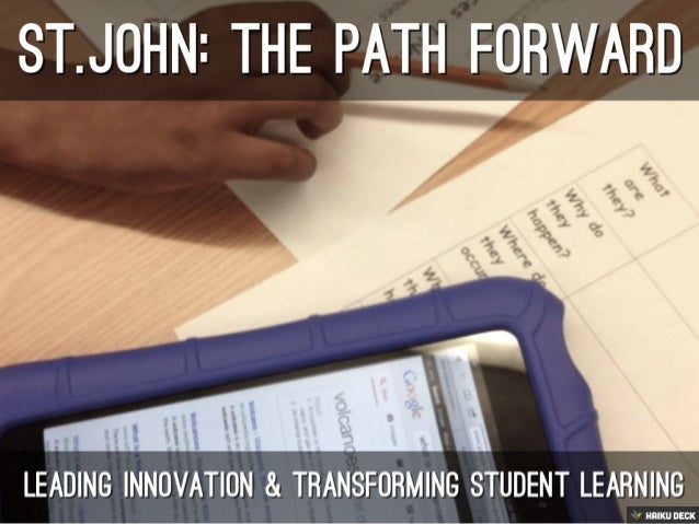 St.John The Path Forward