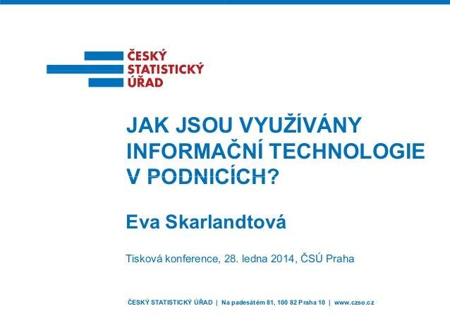 ICT v podnicích (2014)