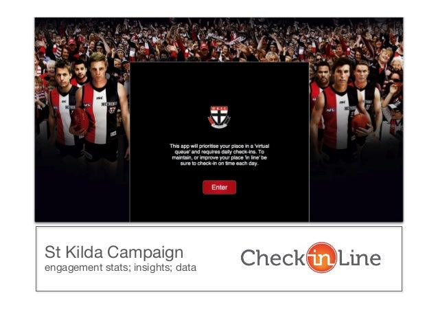 St Kilda Campaign engagement stats; insights; data