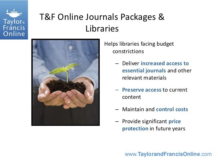 Francis taylor journals