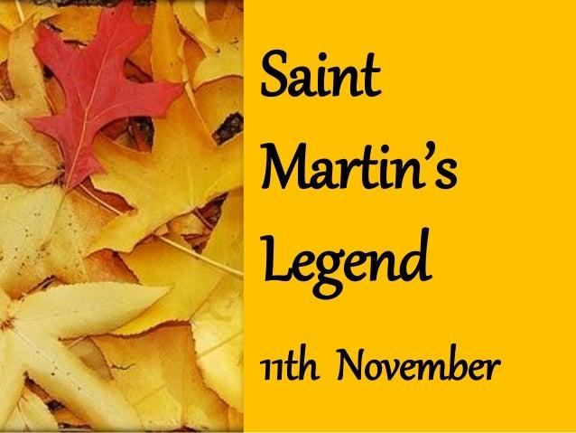 SaintMartin'sLegend11th November
