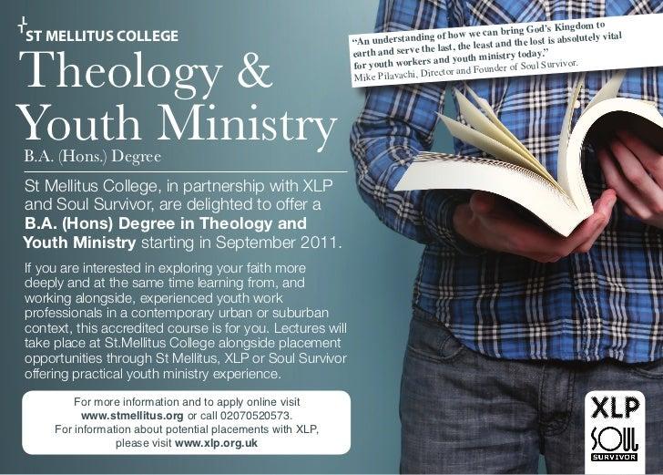 St Melitus YM Course Advert