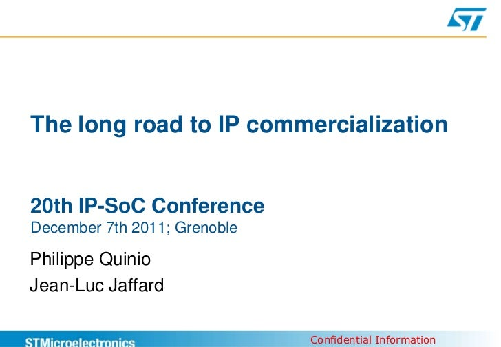 The long road to IP commercialization