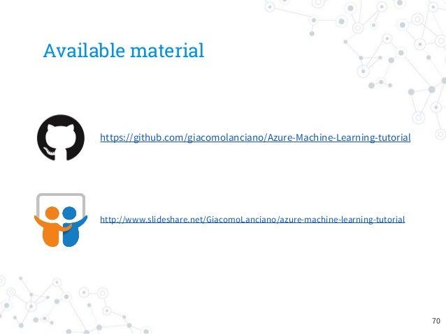 azure machine learning tutorials