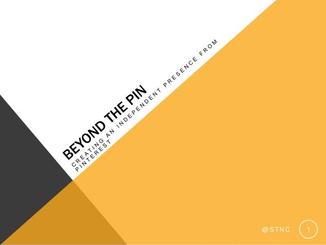State of Search 2013 - Beyond The Pin