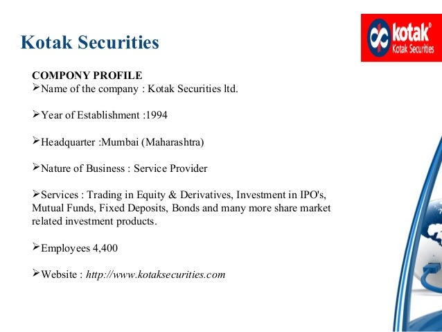 Online share trading kotak securities