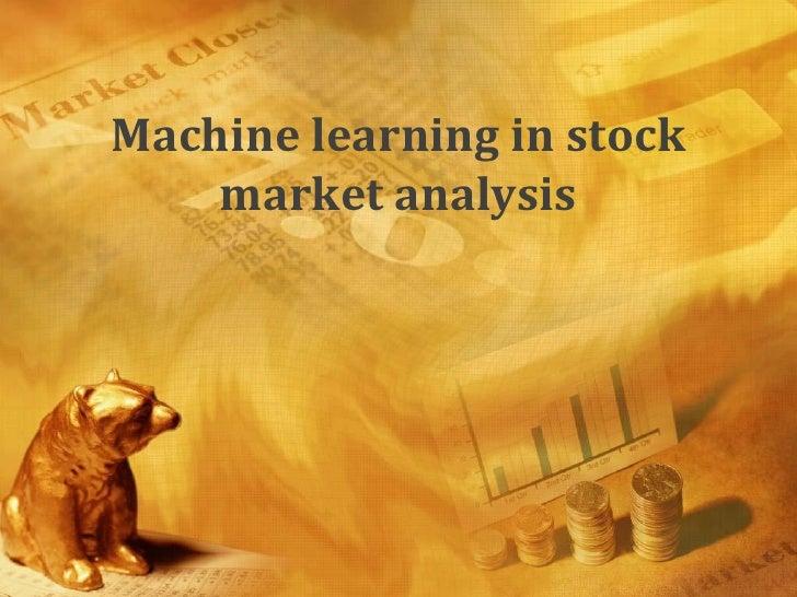 Stock Market Analysis Markov Models