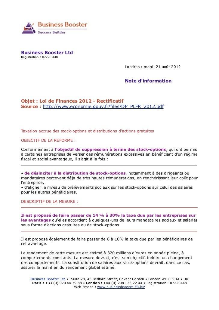 Business Booster LtdRegistration : 0722 0448                                                          Londres : mardi 21 a...