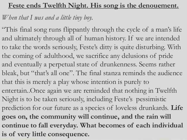 an analysis of deception in william shakespeares the twelfth night Five fascinating facts about shakespeare's twelfth night  a scene from twelfth night by william  ← a short analysis of emily dickinson's 'a clock.