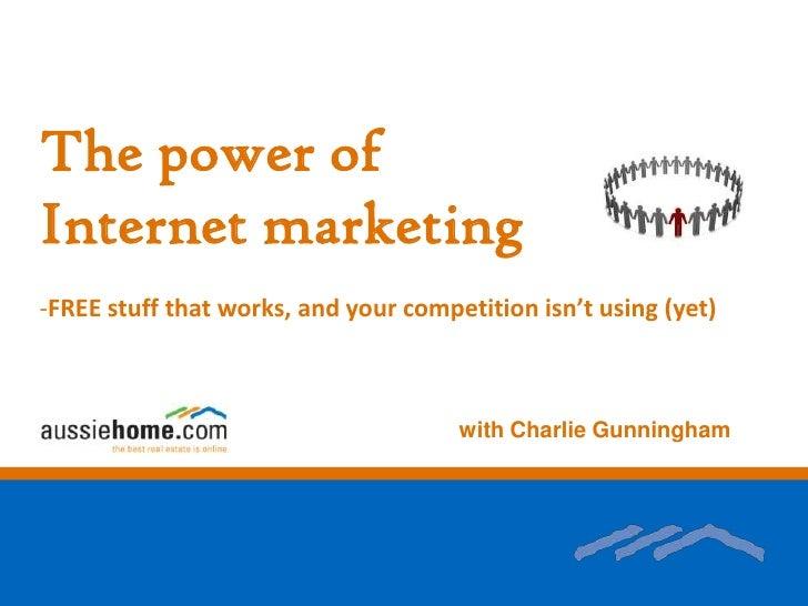 Talk on internet marketing with Stocker Preston Mar10
