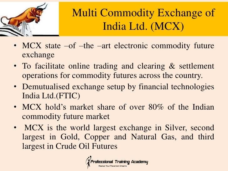 Trade futures options india