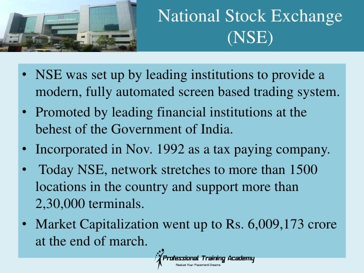 Trading system of stock exchange in india