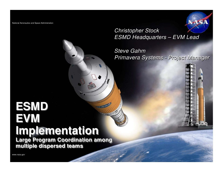 National Aeronautics and Space Administration                                                Christopher Stock            ...