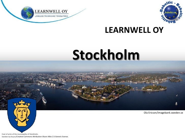 LEARNWELL OY                                                                                Stockholm                     ...
