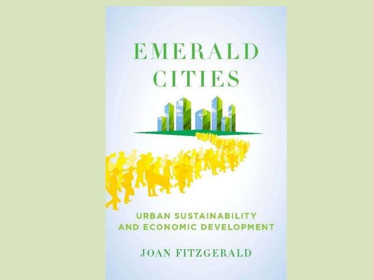 Emerald Cities - Joan Fitzgerald