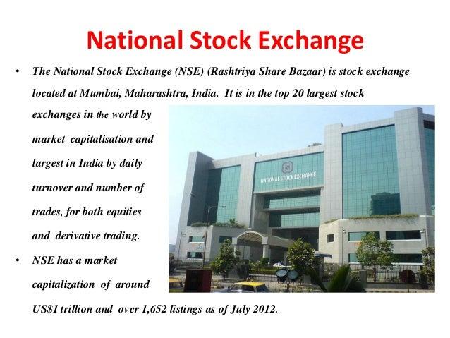 Essay On National Stock Exchange   Original Papers  Exchange National On Essay Stock