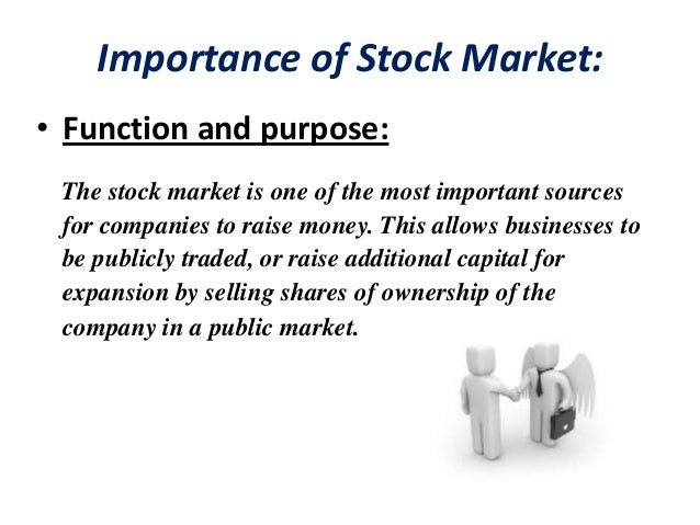 stock exchanges funtion and purpose
