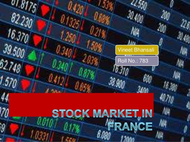 Stock Market in France