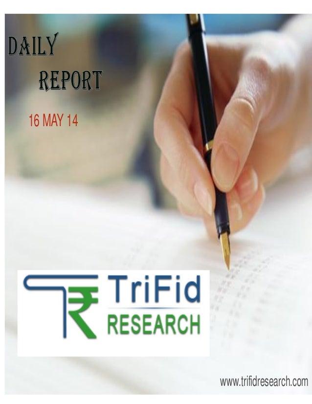 16 MAY 14 www.trifidresearch.com