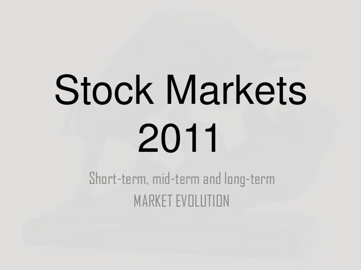 Stock market evolution