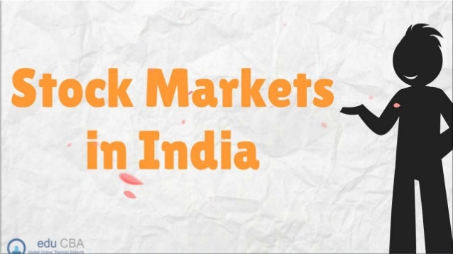 Stock markets in india