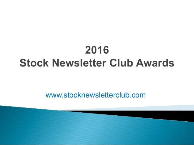 Stock Newsletter Award Winners: Best Performing