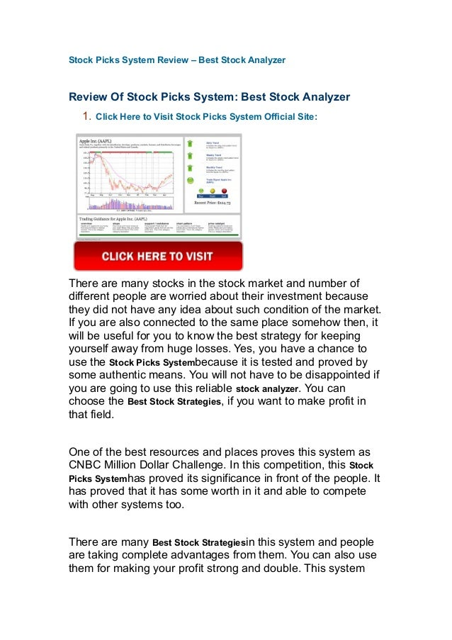 Stock options picks service review