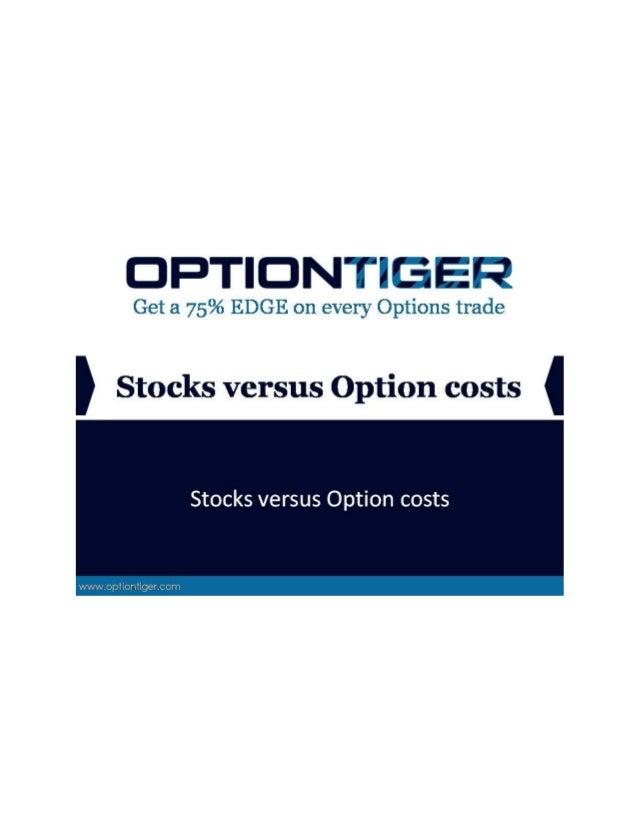 Stocks versus option_costs