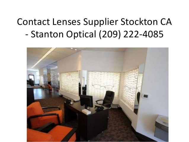 Contact Lenses Supplier Stockton CA - Stanton Optical (209) 222-4085