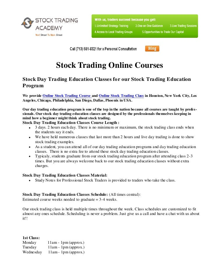 Online option trading comparison