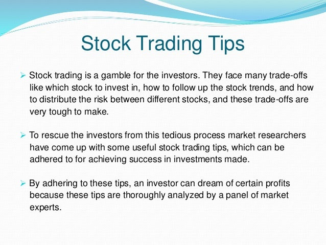 How to make money in stock options trading