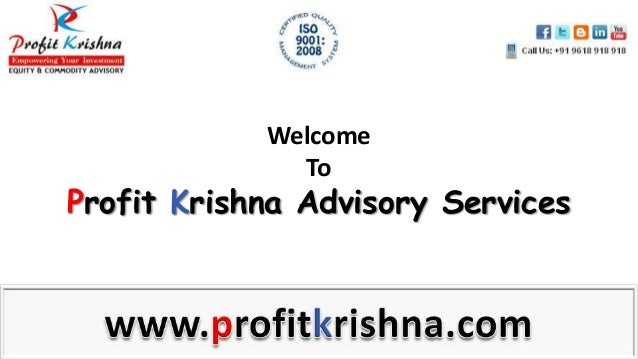 Welcome To Profit Krishna Advisory Services