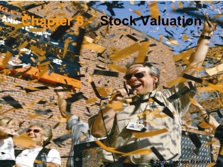 Stock valuation33
