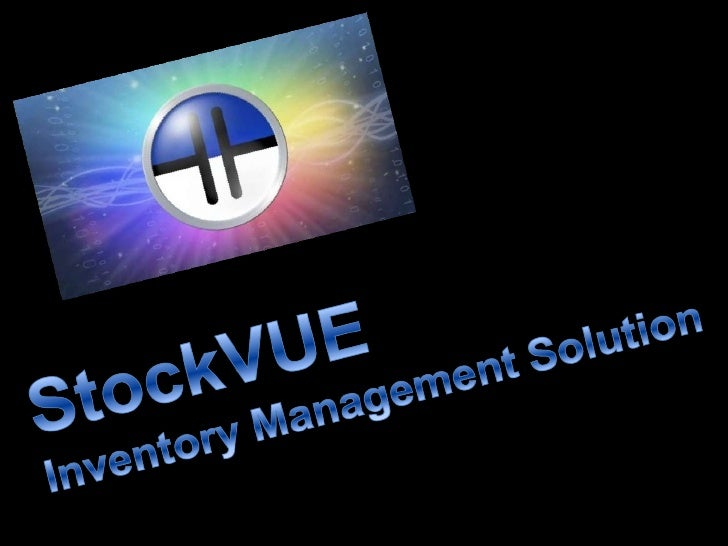 StockVUE Inventory Management Solution