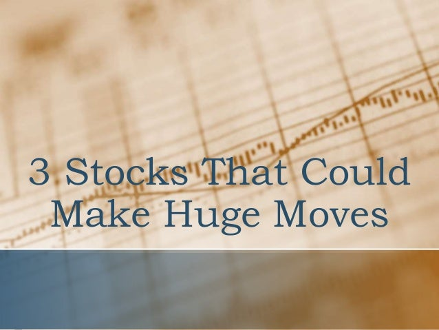 Big Movers for May 18
