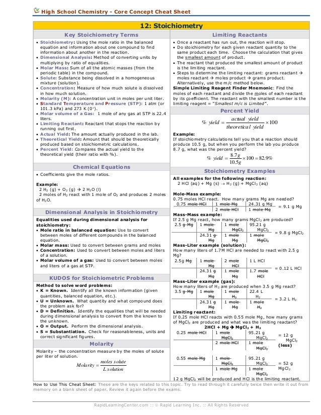 High School Chemistry Stoichiometry Worksheet high school – Chemistry Stoichiometry Worksheet