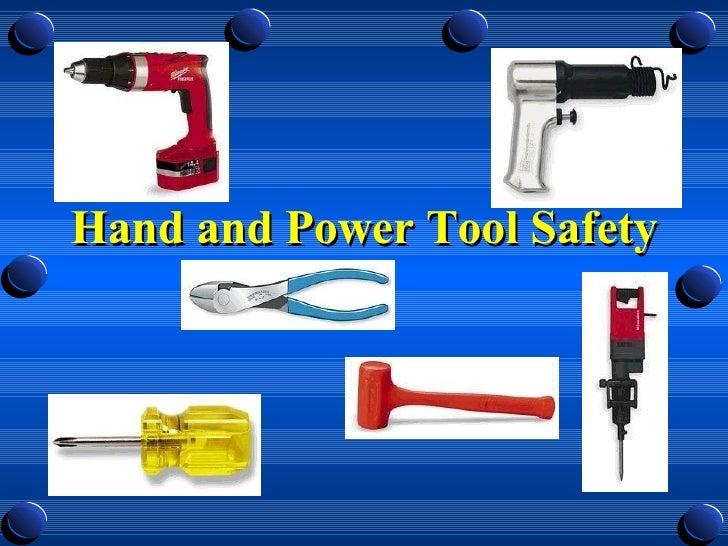 Handtool Safety Training