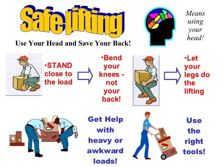 Safe Lifting Techniques - Gonzaga University