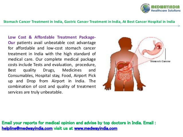 how to help stomach cancer