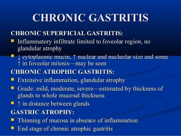 Gastritis Fatigue Weakness